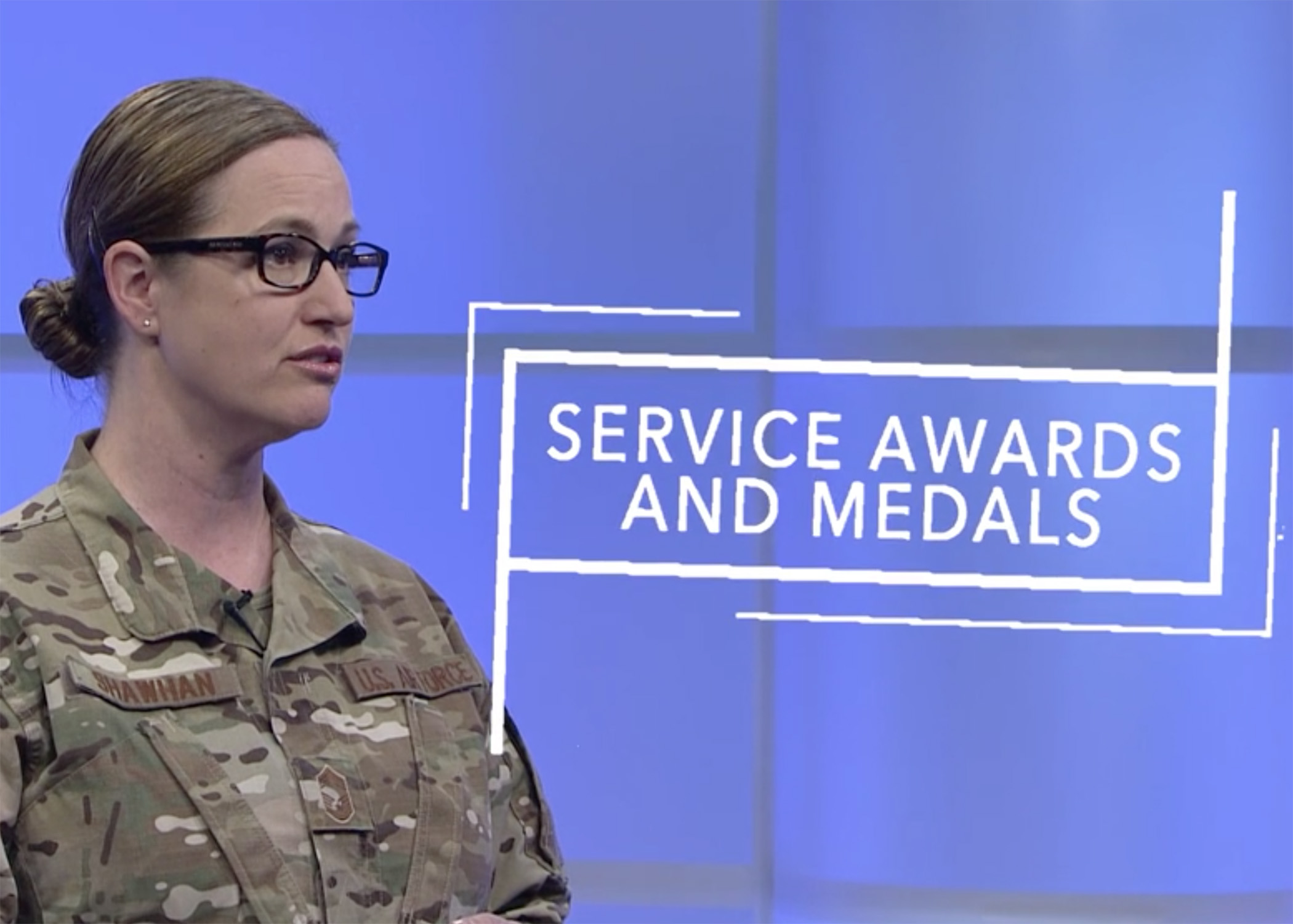 An on-demand learning video released by the Air National Guard's primary learning center educates Airmen on how to write and process awards and decorations. (U.S. Air National Guard file photo/screenshot)