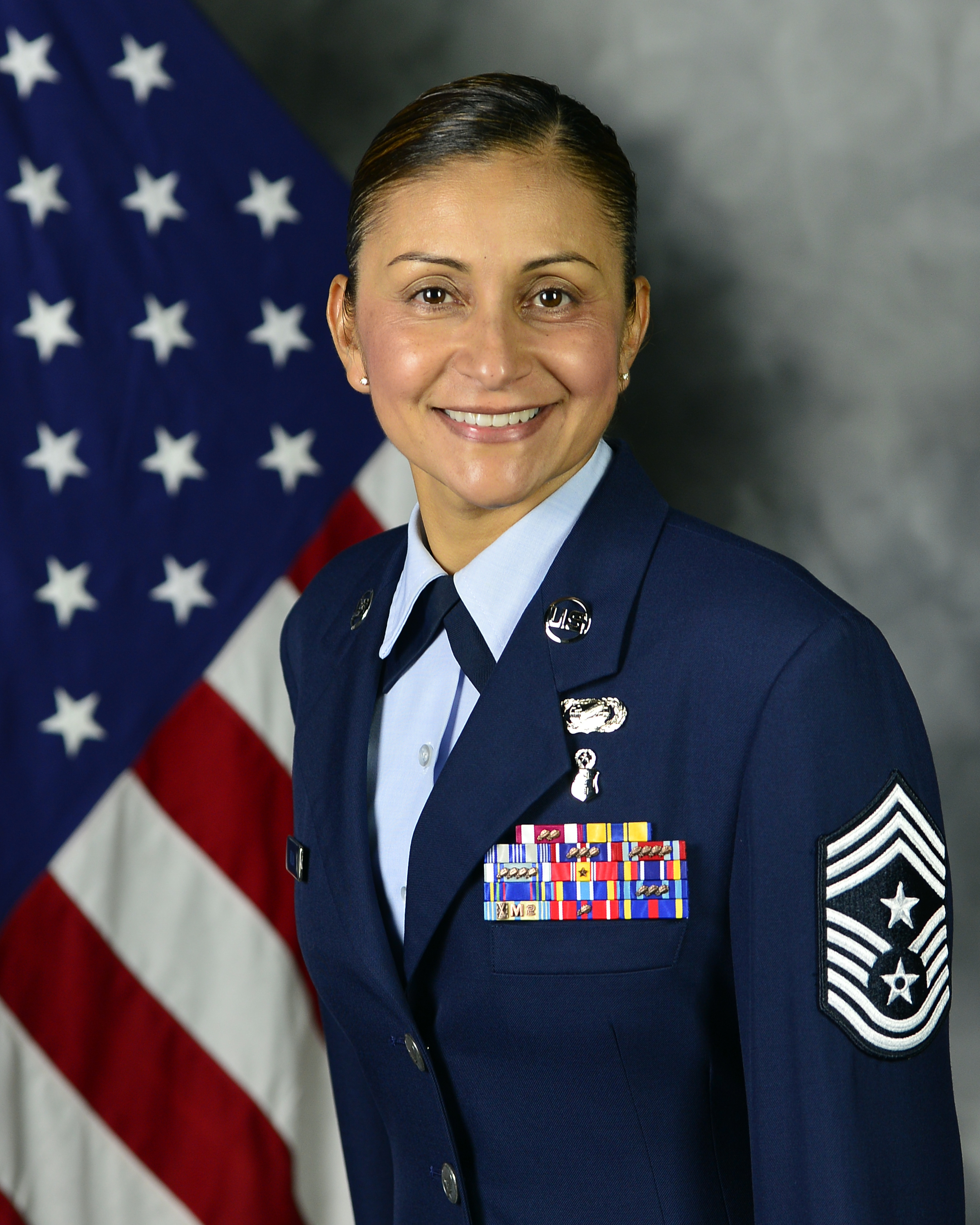 Chief Master Sergeant Cynthia Villa is Command Chief, 4th Air Force